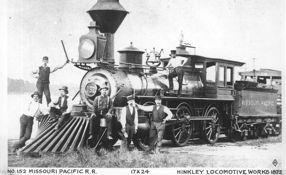 Old No.152 Missouri Pacific RR