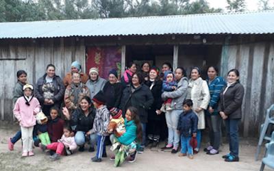 Padre Celso e la comunità