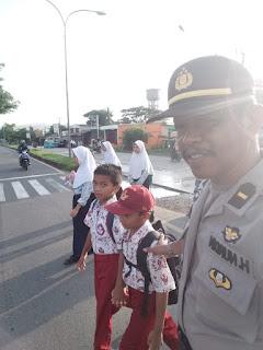 Polsek Labakkang Strong Point Pagi,Bentuk Kehadiran Polisi Ditengah Masyarakat