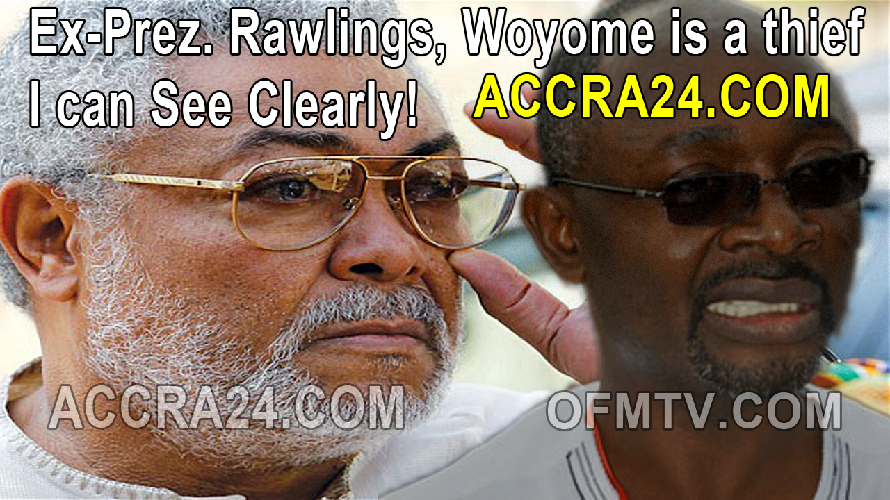 Alfred Agbesi Woyome is a thief - Rawlings [Video]