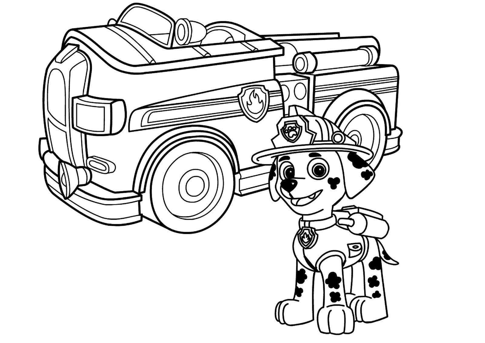 Paw Patrol Fahrzeuge Malvorlagen Malvorlagencr