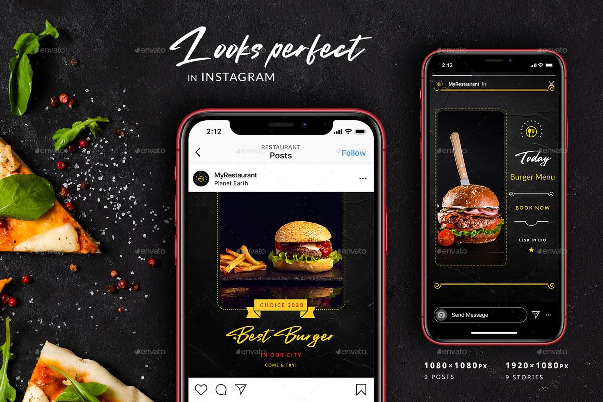 Burger Restaurant Instagram Posts%2526Stories 26312636%2B %2BCopy