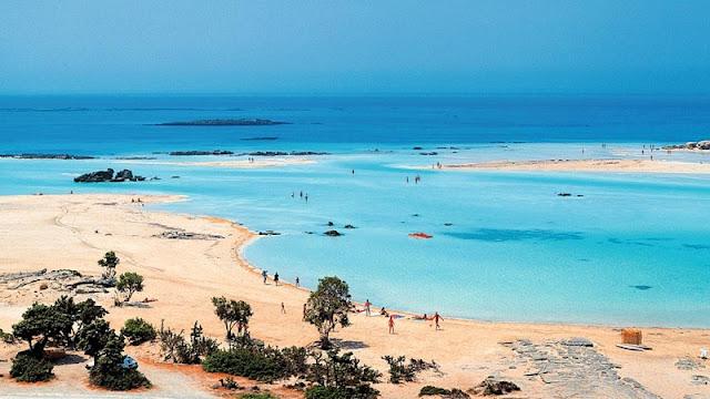 Praia Elafonisi, Creta