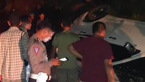 Kepala Kemenag Wajo Kecelakaan di Sabbangparu