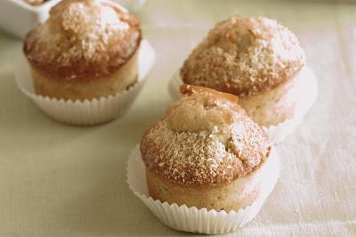 Muffins con banana e cocco