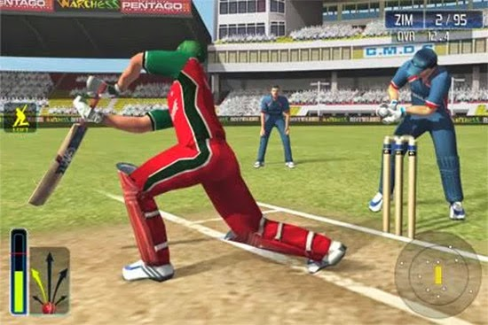 Ea cricket  game for android mobile free download