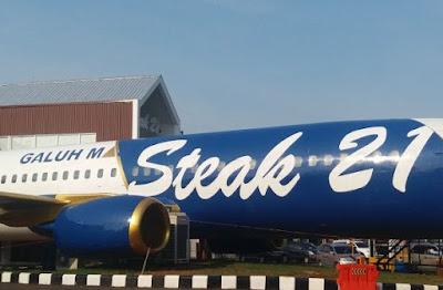 Wisata Kuliner Steak 21 Karawang Makan Di Pesawat