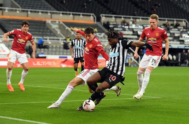 Manchester United VS Newcastle on K24 TV EPL maskani  photo