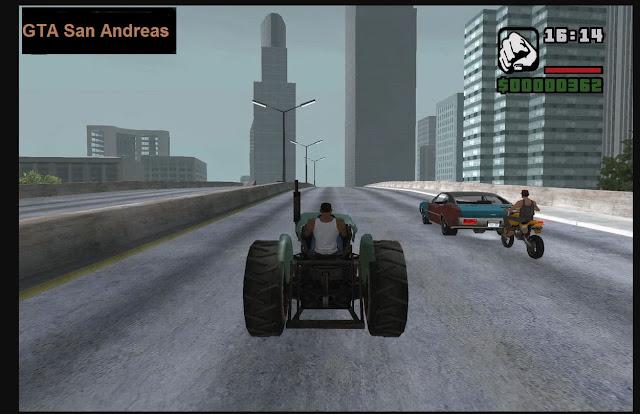 تحميل لعبة GTA San Andreas الاصلية من ميديا فاير