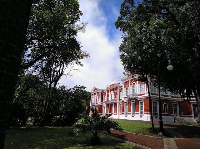Palacio de Santa Ana en Ponta Delgada