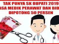 Belum Dapat Perpanjangan SK THL Bupati, Kapus Kalabbirang Minasatene Potong Uang Jasa Medik