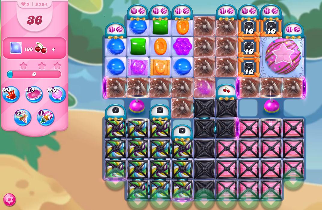 Candy Crush Saga level 9584