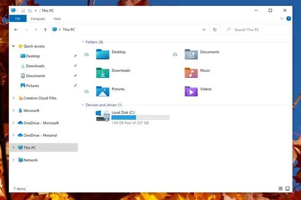 Icon baru di File Explorer
