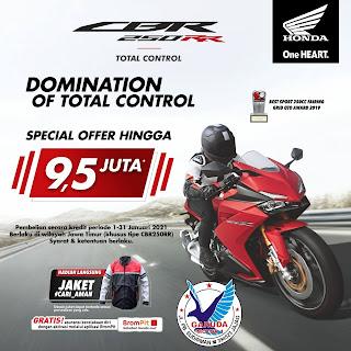 Promo sepeda motor Honda Banyuwangi termurah