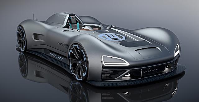 2017 Racer Fourteen Concept Renderings - #Racer #Fourteen #Concept #Rendering #supercar