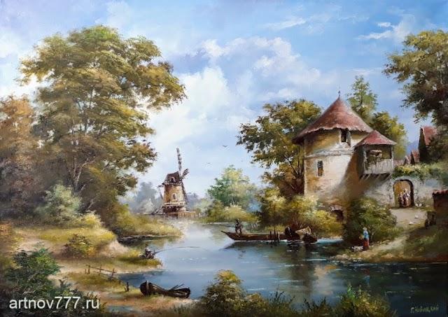 Пейзажи Голландии
