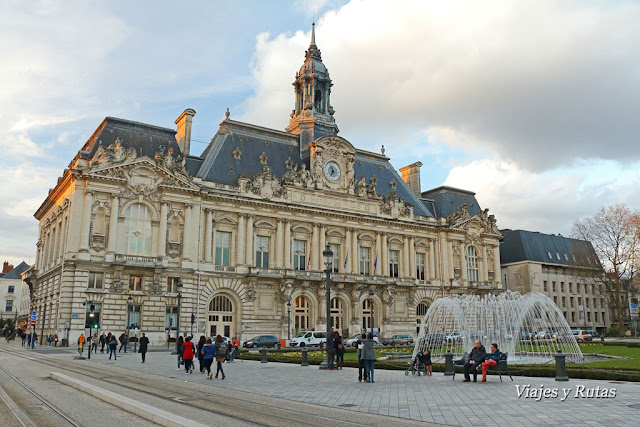 Ayuntamiento, plaza Jean Jaurés, Tours