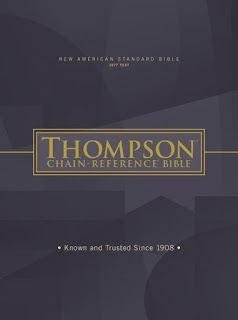 Review of the NASB Thompson Chain Reference Bible