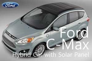 Sudah Lihat Konsep Mobil Hybrid Bertenaga Matahari Ford C-Max?