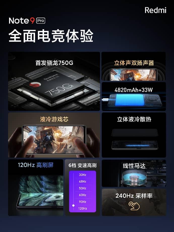 Spesifikasi Xiaomi Redmi Note 9 Pro 5g Android31