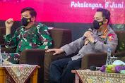 Panglima TNI dan Kapolri Minta Perkuat PPKM Mikro di Pekalongan
