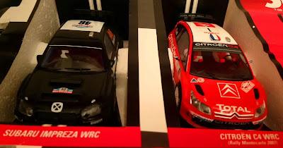 Subaru Impreza WRC Valentino Rossi y Citroen C4 WRC