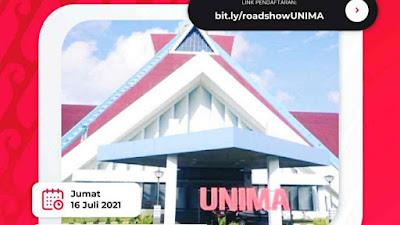 Ikuti Roadshow Gerakan Nasional 1000 Startup Digital UNIMA
