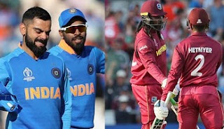 India vs West Indies Series 2019 Schedule, Squad, Team, Players List: