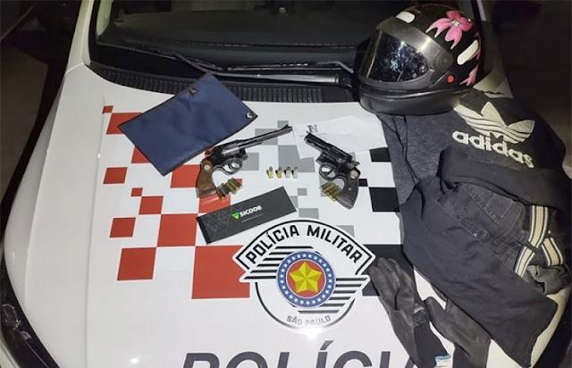 Policia Militar prende acusado em envolvimento em roubo e morte do dono de auto eletrica em Bastos