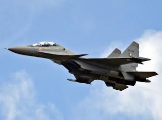 Sukhoi Su-30MKI Flanker-H -  Angkatan Udara India