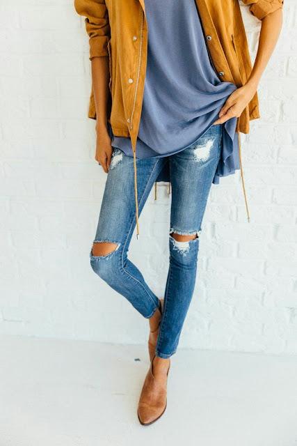 Broke jeans
