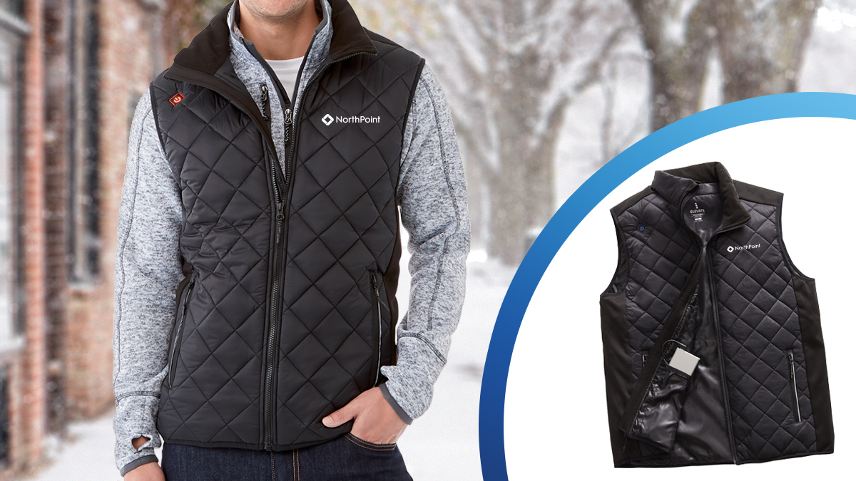 Vest that's heated by a powerbank