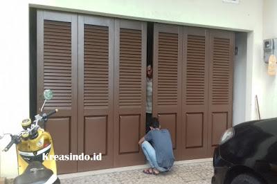 Jasa Pembuatan Pintu Garasi Besi di Jakarta, Depok dan Sekitarnya