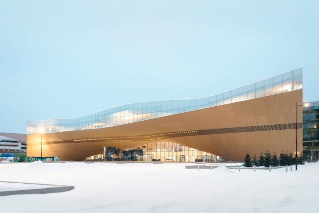 5 Perpustakaan Mewah dan Berkelas Finlandia