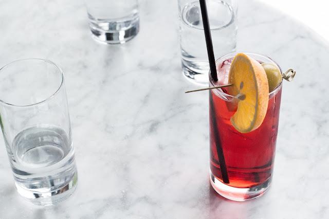 bebidas en el whyte hotel