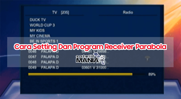 Cara Setting Dan Program Receiver Parabola