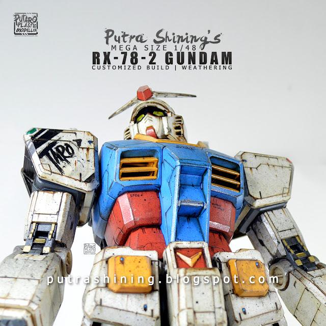 Putra Shining's RX-78-2 Gundam Mega Size 1/48 Custom Weather
