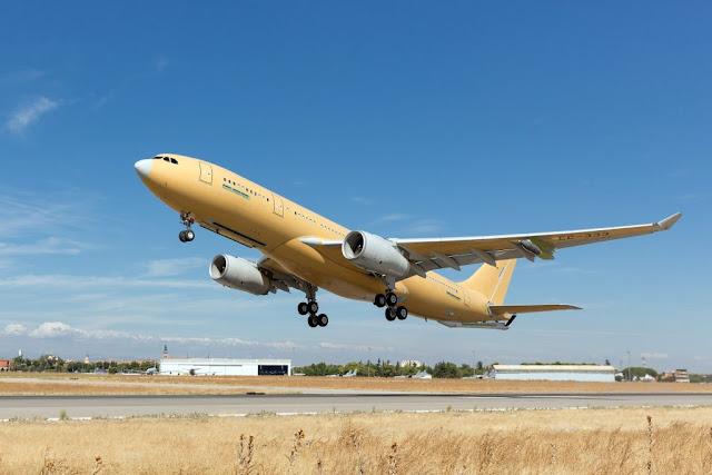 FIRST NEW STANDARD A330 MRTT MAKES MAIDEN FLIGHT