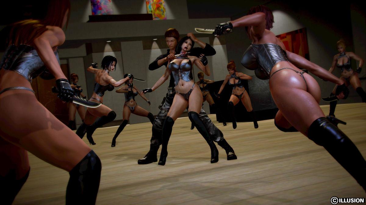 Hình ảnh 036 in Truyện Hentai 3D Nữ chiến binh Ryona