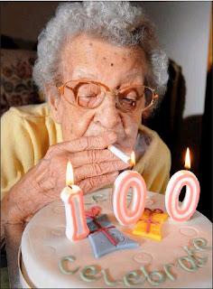 Så ska det firas! Okänd pensionär firar Apelsinblomskustens 100:e inlägg!
