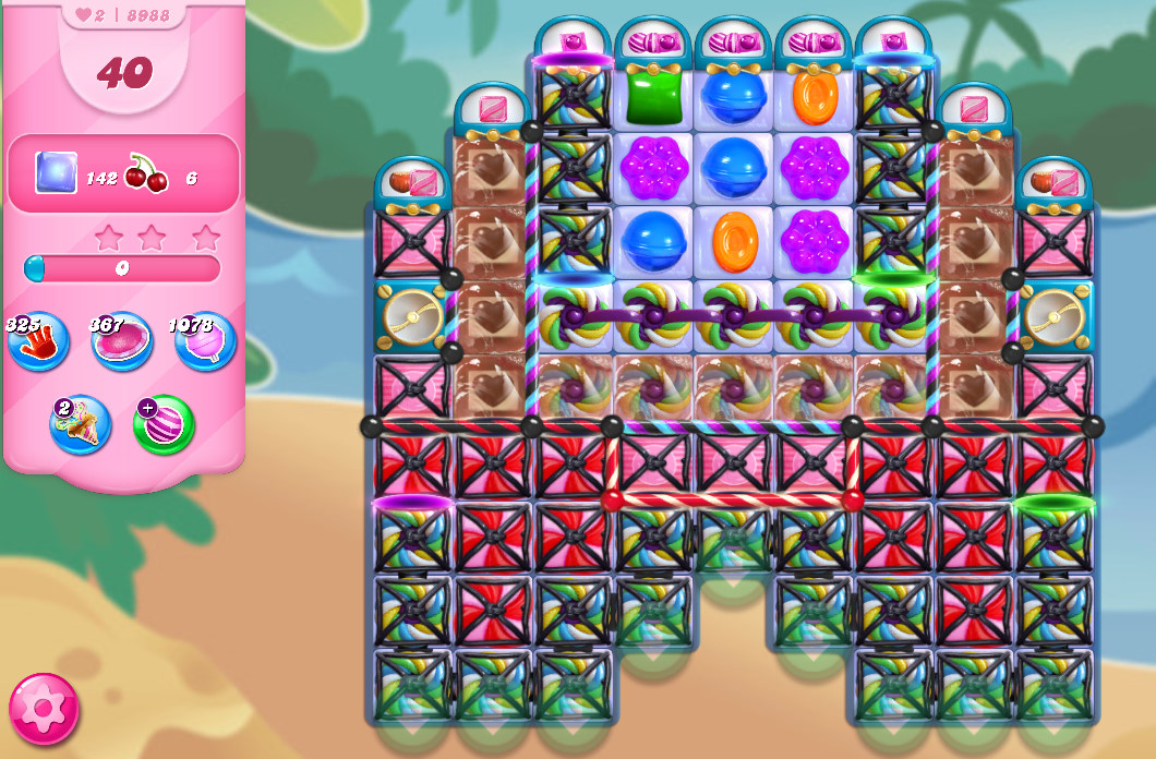 Candy Crush Saga level 8988