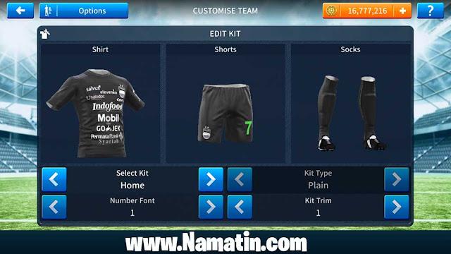 Kit Dream League Soccer 2019 Persib Ketiga
