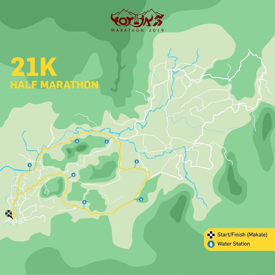 21K 👟 Toraja Marathon • 2019/2020