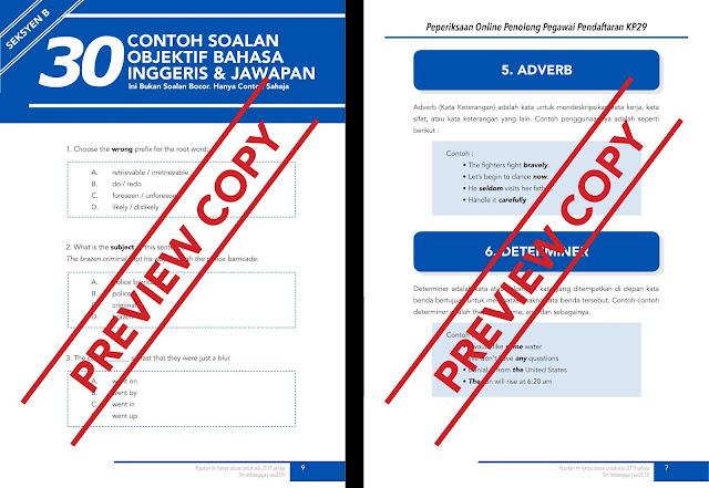 Persediaan Penolong Pegawai Pendaftaran KP29 Untuk Anda