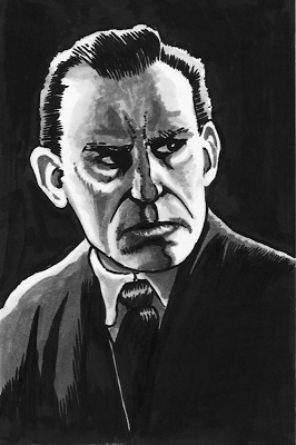 Lon Chaney Drawing