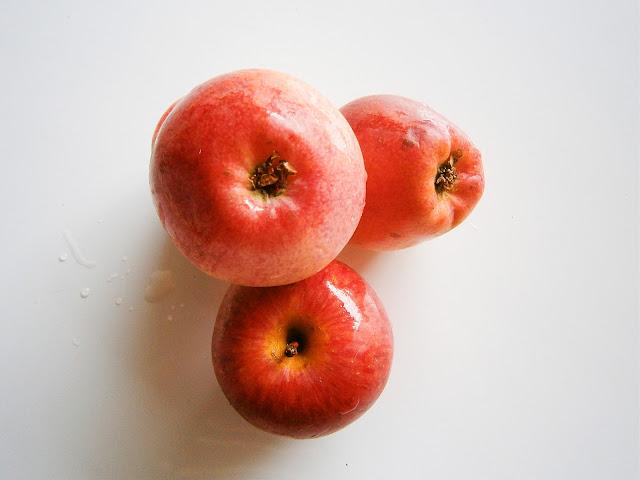 manzana hervida