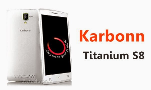 Karbonn Titanium S6 specifications and price India