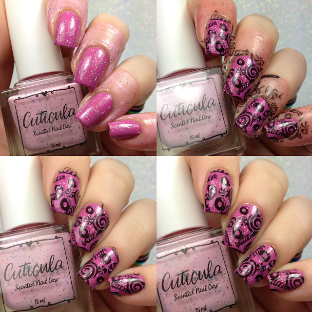 Cuticula-Gummy Bears Nail Tape