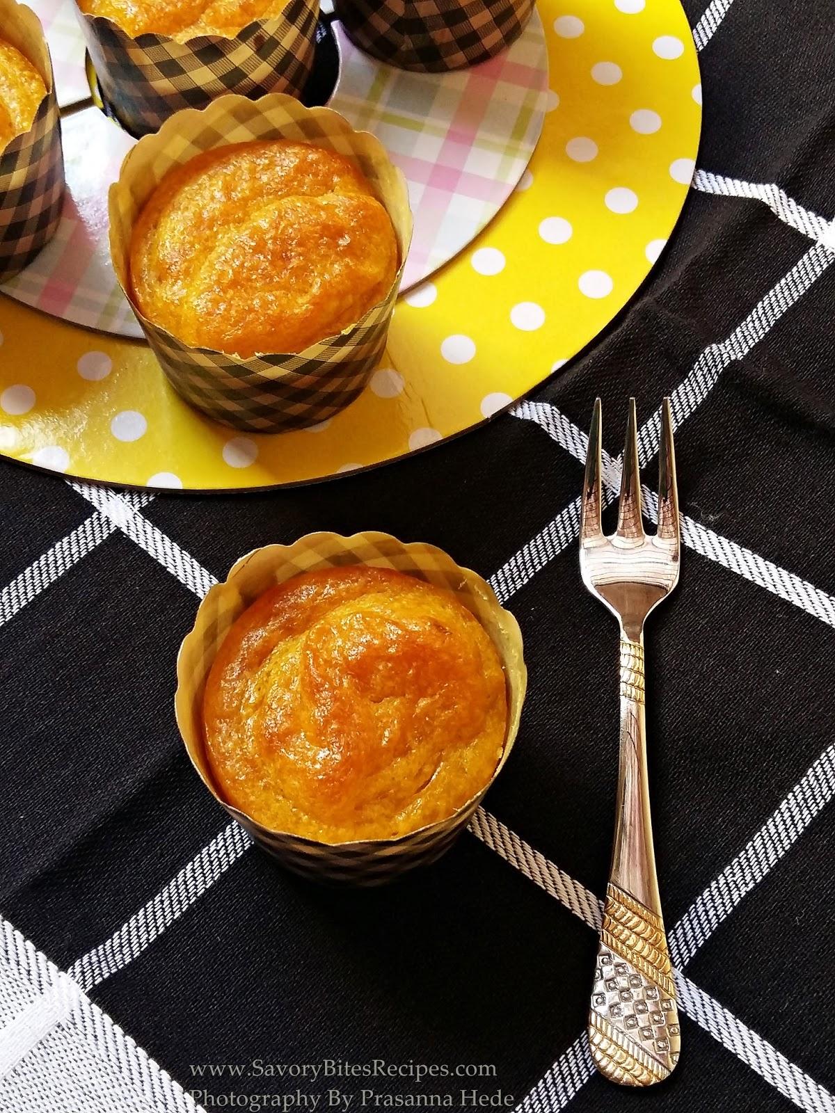 Eggless Mango Cake Cupcake Mango Recipe Eggless Recipe Tea -time snack Easy Recipe