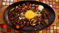 la cucina, dinner, sizzling sisig, egg, Mountain Lake Restort, Caliraya Springs, Laguna
